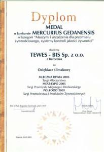 scan dyplomu MLECZNA REWIA 2005