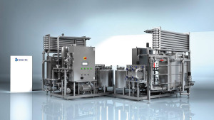 pasteryzator Thermal processing of milk